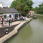 Foxton Locks, Leicestershire (5149) by Tony Payne