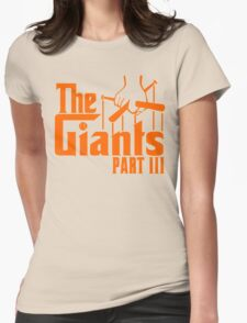 The GIANTS Womens Fitted T-Shirt