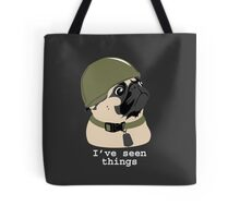 Pug of War Tote Bag