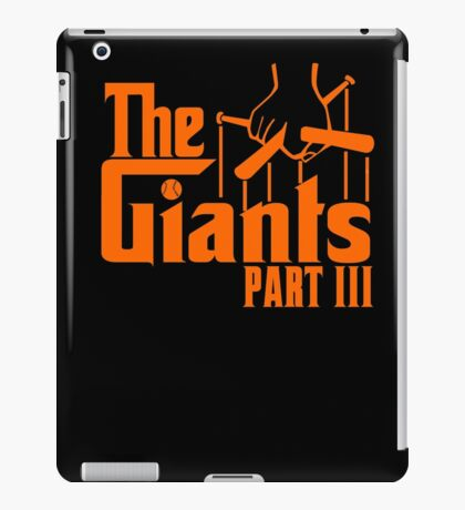 The GIANTS iPad Case/Skin
