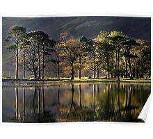 Landscape,Buttermere,Lake District,England,UK Poster