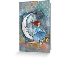 The Little Moon Dancer Greeting Card