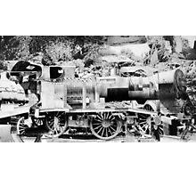 Steam Train. Photographic Print