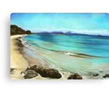 Wategos Beach- Byron Bay Canvas Print