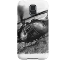 Gazelle Helicopter Ink Drawing Samsung Galaxy Case/Skin