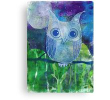 Errol the Owl Canvas Print