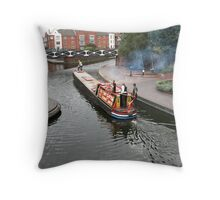 Birmingham Gas Street Basin (5082) Throw Pillow