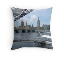View From The London Eye Throw Pillow