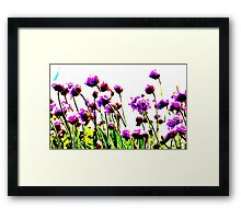 """"""" Are You Alright Flower ?  """" Framed Print"""