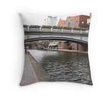 Birmingham Gas Street Basin (5087) Throw Pillow