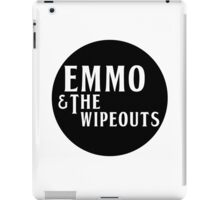 Emmo and the Wipeouts - Black version iPad Case/Skin