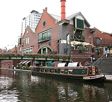 Birmingham Gas Street Basin (5089) by Tony Payne