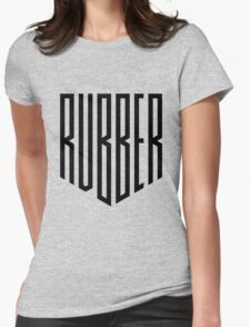 Rubber Shield Womens Fitted T-Shirt