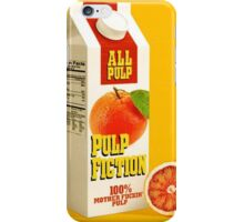 pulp fiction juice box iPhone Case/Skin