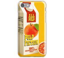 pulp fiction juice box iPhone Case/Skin