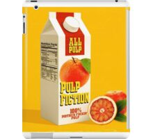 pulp fiction juice box iPad Case/Skin