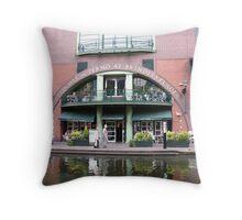 Birmingham Gas Street Basin (5090) Throw Pillow