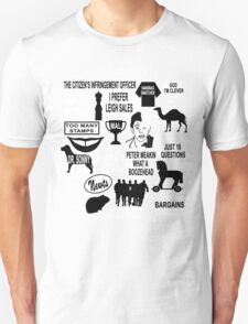 The Chaser - Quotes and References T-Shirt