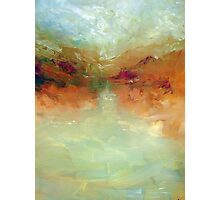 Lake: Abstract landscape Photographic Print