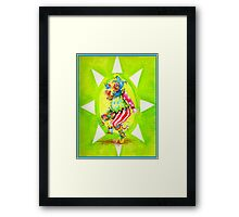 Jester bit of fun Framed Print