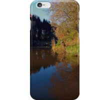 Romantic evening at the pond | waterscape photography iPhone Case/Skin
