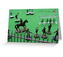 Subbuteo Matchday Mither Greeting Card