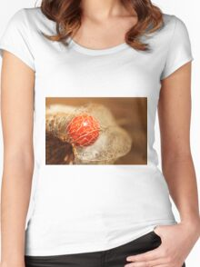 cage dorée Women's Fitted Scoop T-Shirt