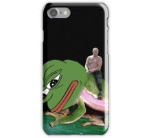 Putin Riding Pepe Frog iPhone Case/Skin