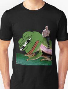 Putin Riding Pepe Frog Unisex T-Shirt