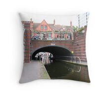 Birmingham Gas Street Basin (5093) Throw Pillow