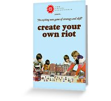 Create Your Own Riot Greeting Card