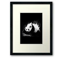 Milky Panda Framed Print
