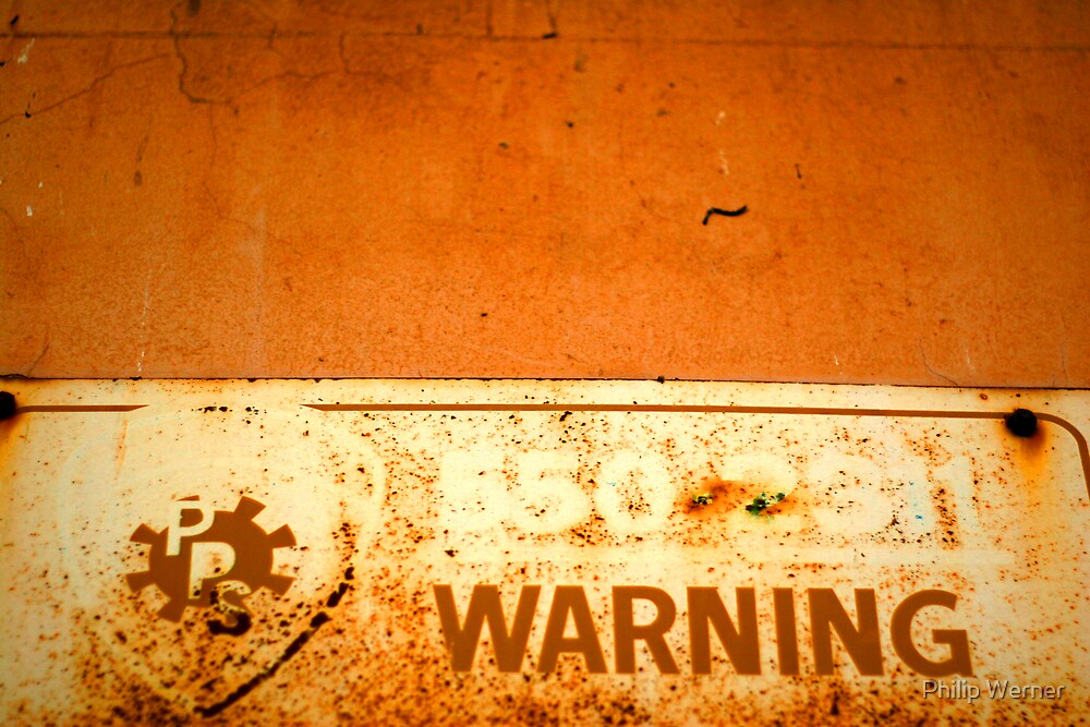 Warning ! by Philip Werner