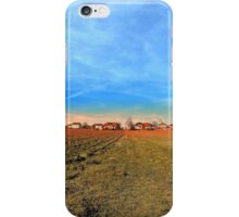 Horizon, clouds, sky and sunset | landscape photography iPhone Case/Skin