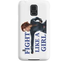 Fight Like a Girl Samsung Galaxy Case/Skin