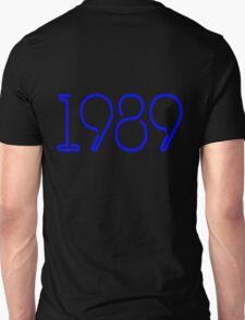 1989 Blue Unisex T-Shirt