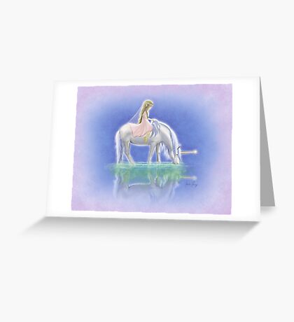 Ulani the Unicorn Elf Greeting Card