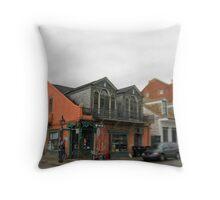 Ursulines Corner Store Throw Pillow