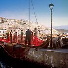 Paros Fishermen by Yuri Lev