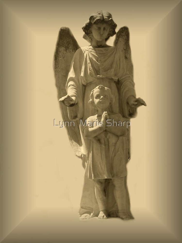 Guardian Angel and Child by Marie Sharp