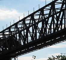 Trestle Against the Sky-Weirton Steel Mill by Salene Kraemer