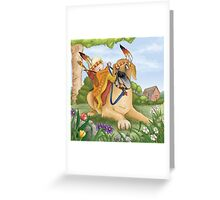 The Great Apache Greeting Card