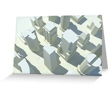 Cityscape 5 Greeting Card