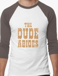 The Dude Abides Men's Baseball ¾ T-Shirt