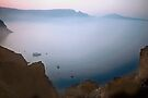 Morning Mist, Santorini,Greece by Yuri Lev