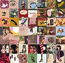 Fashion Sketchbook by Karl Frey