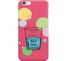 empty or full? iPhone Case/Skin