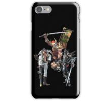 3 Character Tee 1 - Maxi, Raphael and Yoshimitsu iPhone Case/Skin