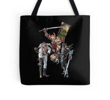 3 Character Tee 1 - Maxi, Raphael and Yoshimitsu Tote Bag
