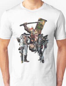 3 Character Tee 1 - Maxi, Raphael and Yoshimitsu Unisex T-Shirt
